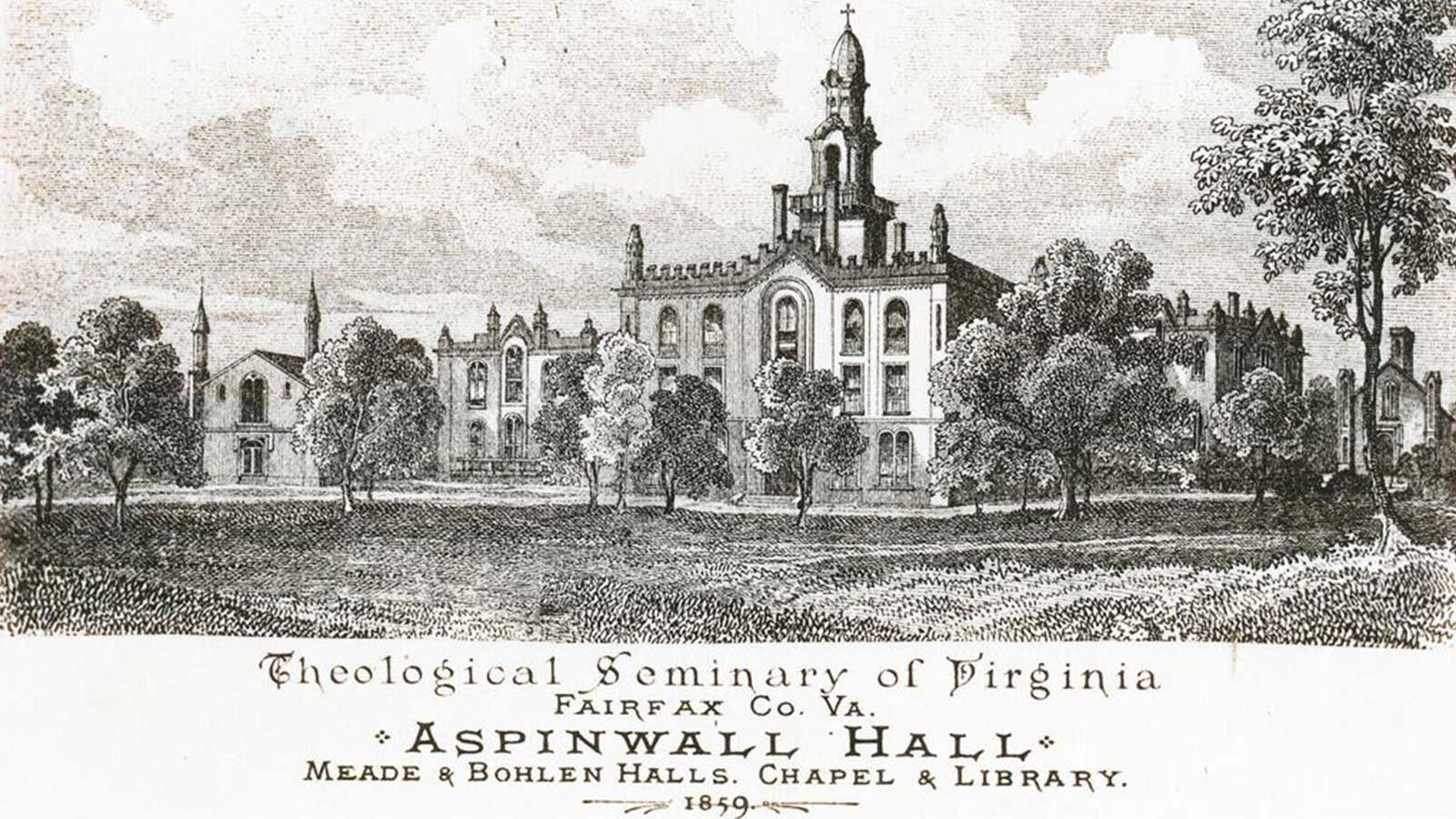 Virginia Theological Seminary 1859