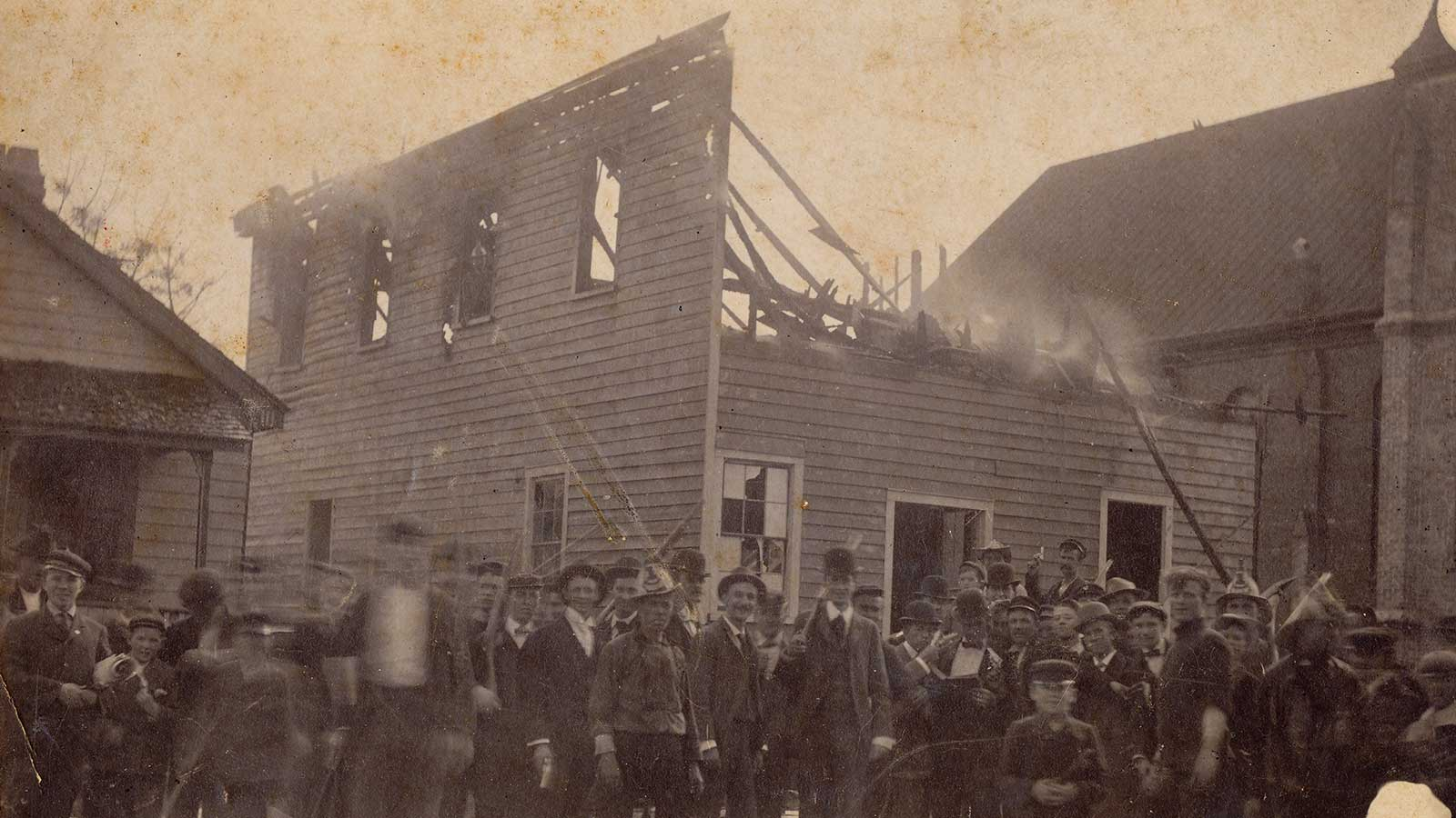 The Daily Record, the only African American newspaper in Wilmington, N.C., was set ablaze as the Wilmington insurrection of 1898 began.