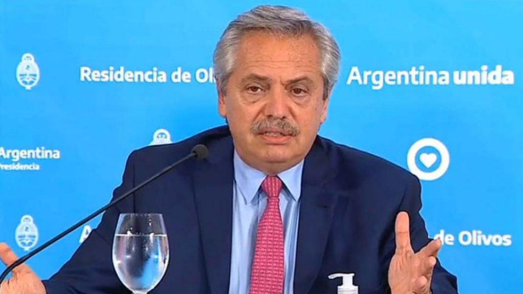 President Alberto Fernandez