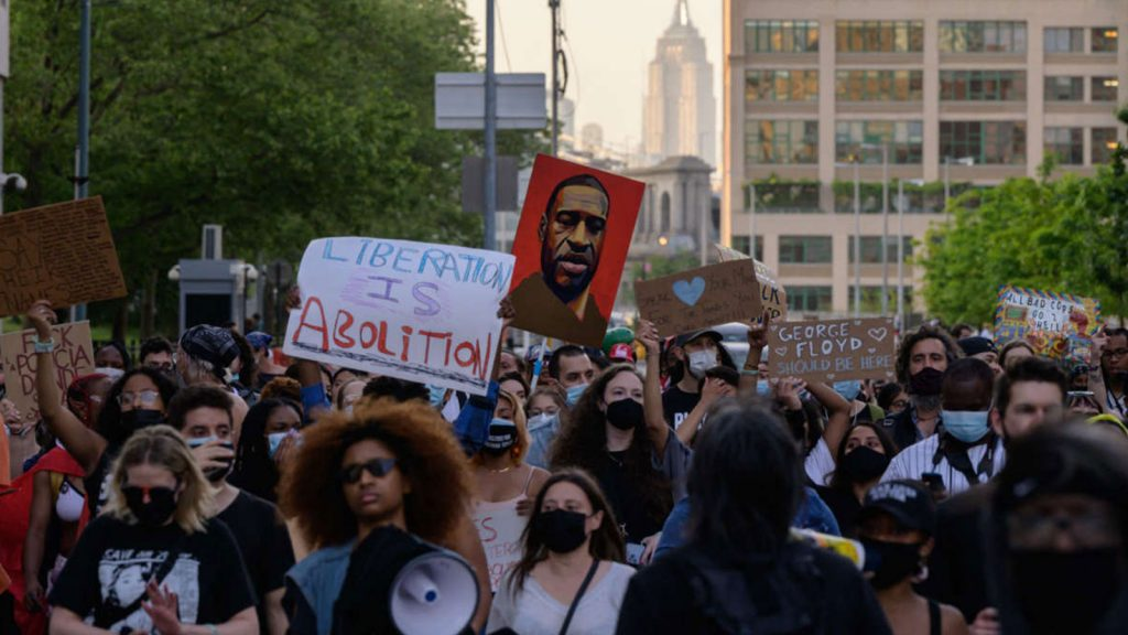 Black Lives Matter protesters march