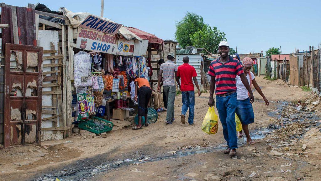 Diepsloot in South Africa