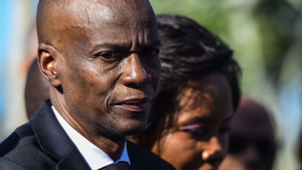 Haitian President Jovenel Moise