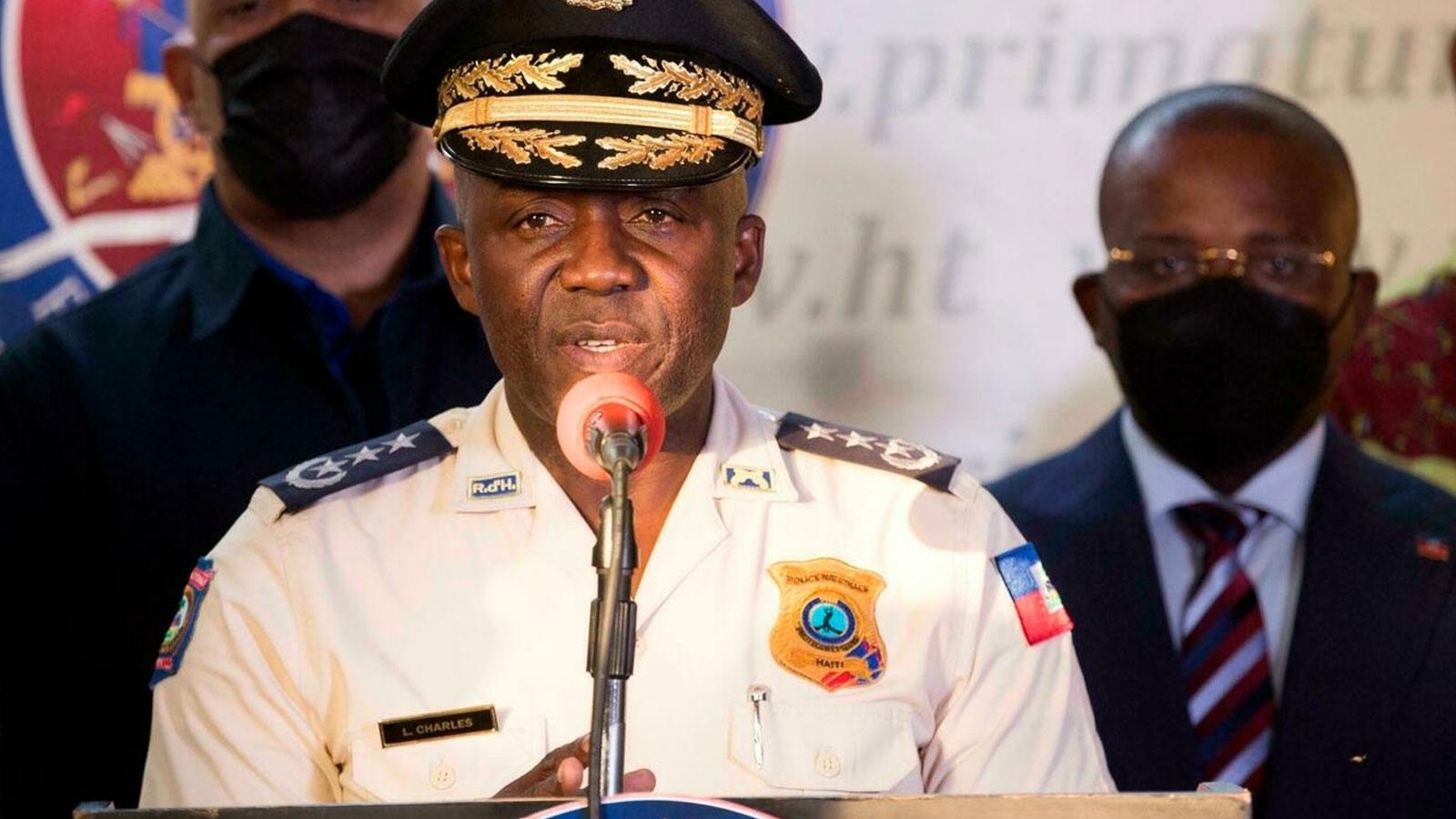 National Police Director Leon Charles, Port-au-Prince, Haiti