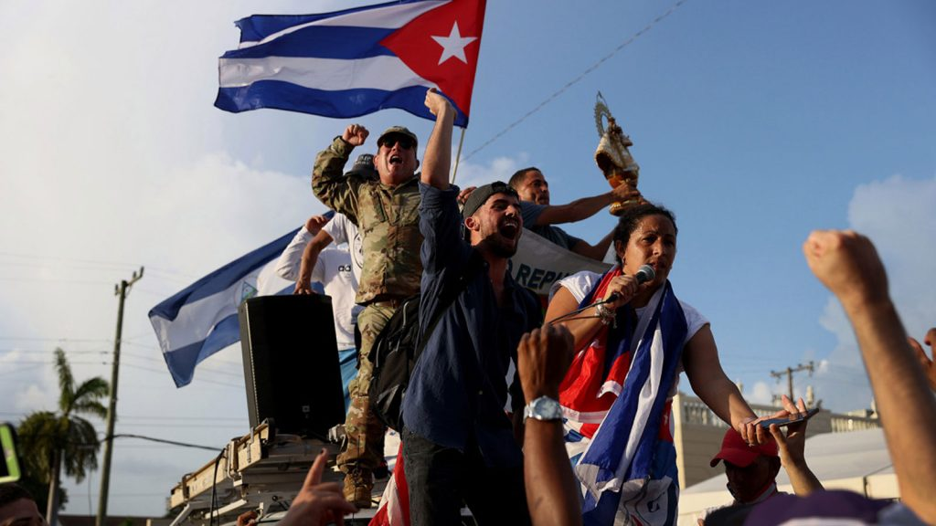 Protests in Cuba July 2021