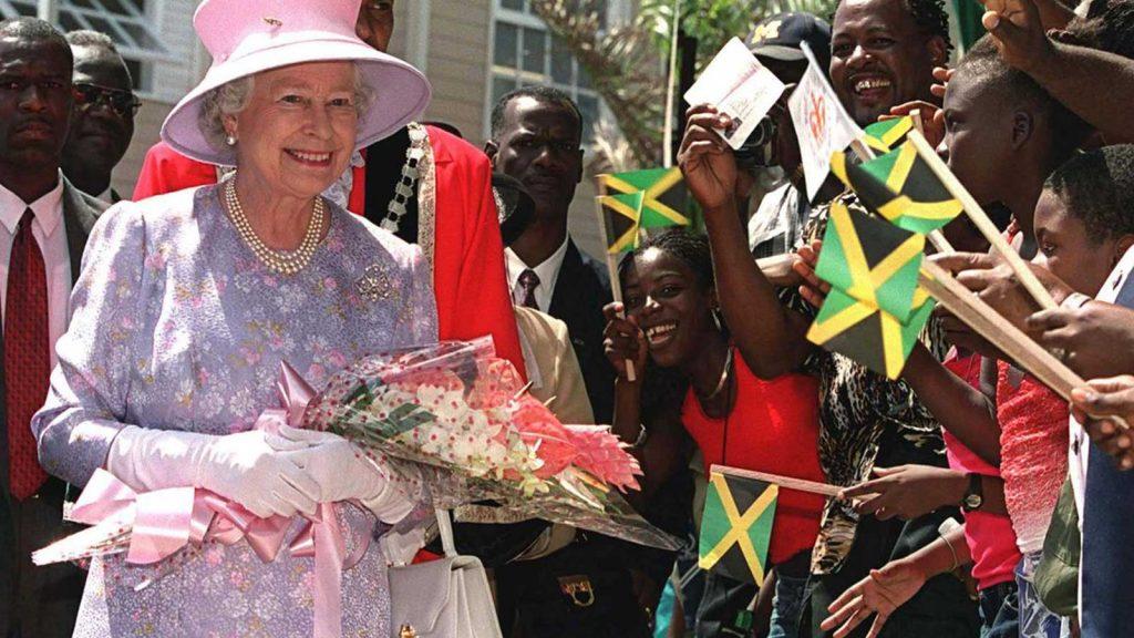 Queen Elizabeth visiting Jamaica
