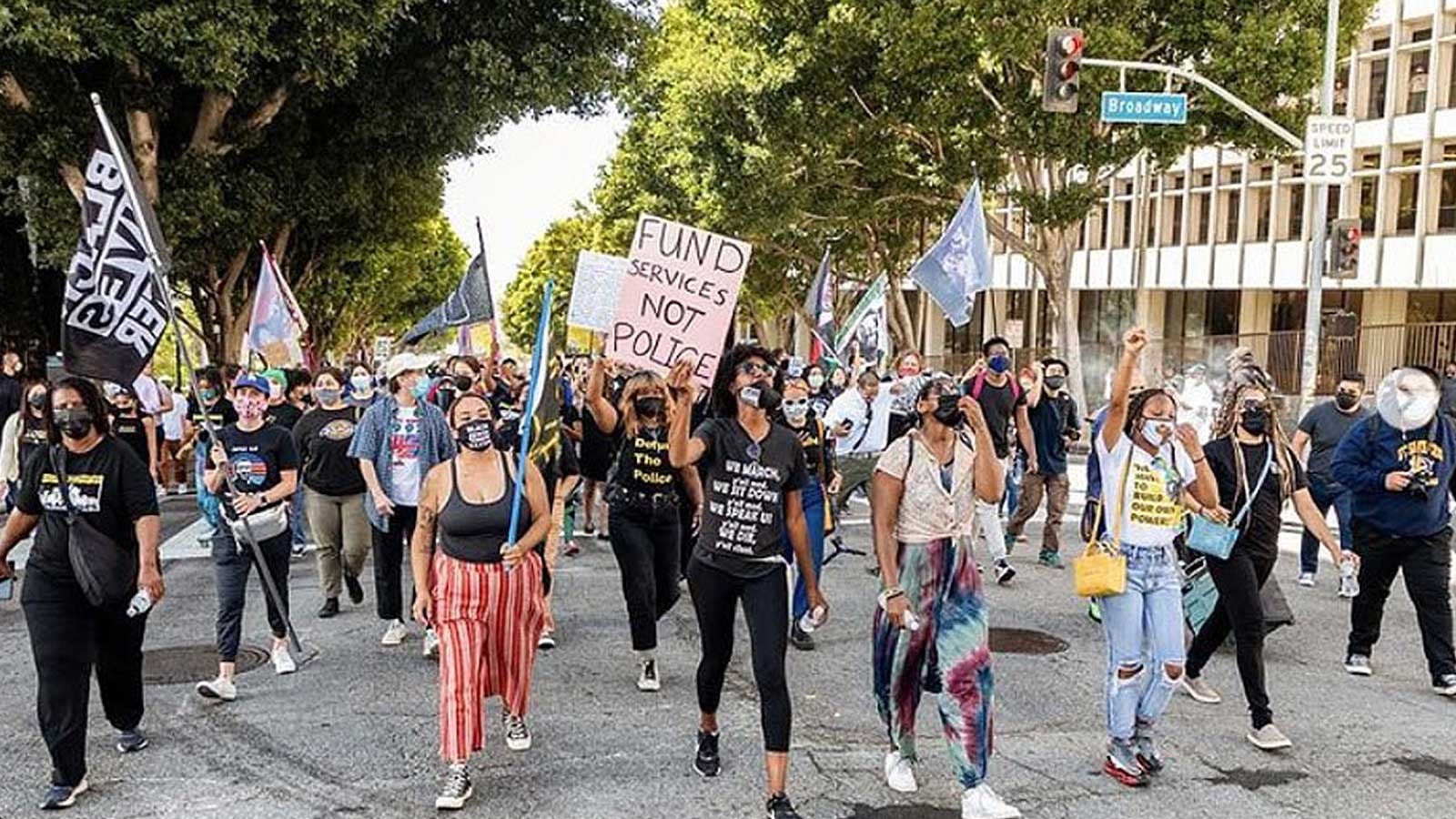 Black Lives Matter demonstrators continue the long battle against racism in this country.
