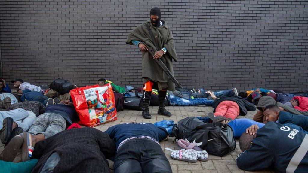 South Africa in turmoil