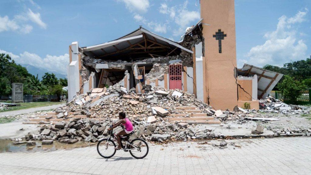 Church Haiti Earthquake 2021