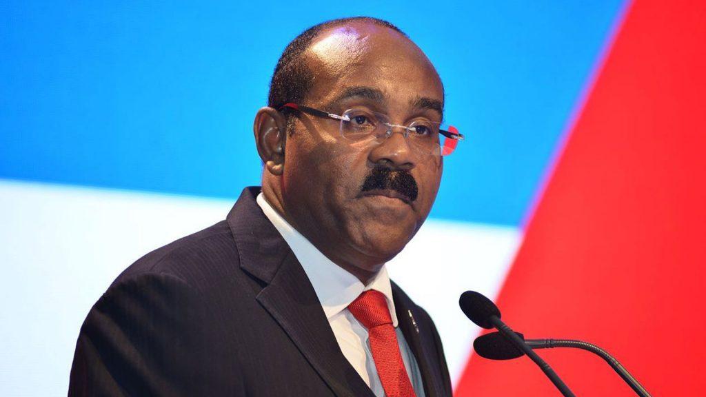 Gaston Browne Prime Minister of Antigua and Barbuda