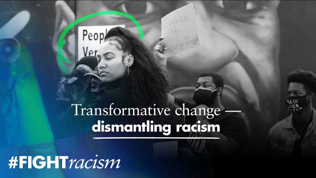Video: Dismantling racism needs transformative change. The UN Human Rights Office launches a report and agenda towards transformative change for racial justice and equality.
