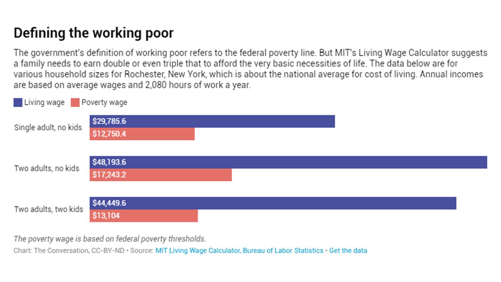 Defining the working poor