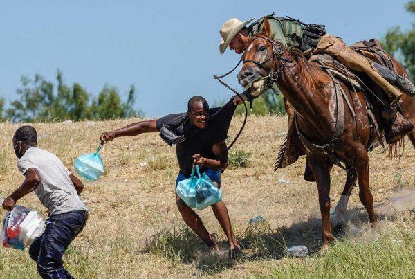 Border Patrol Attack on Haitian Asylum Seekers