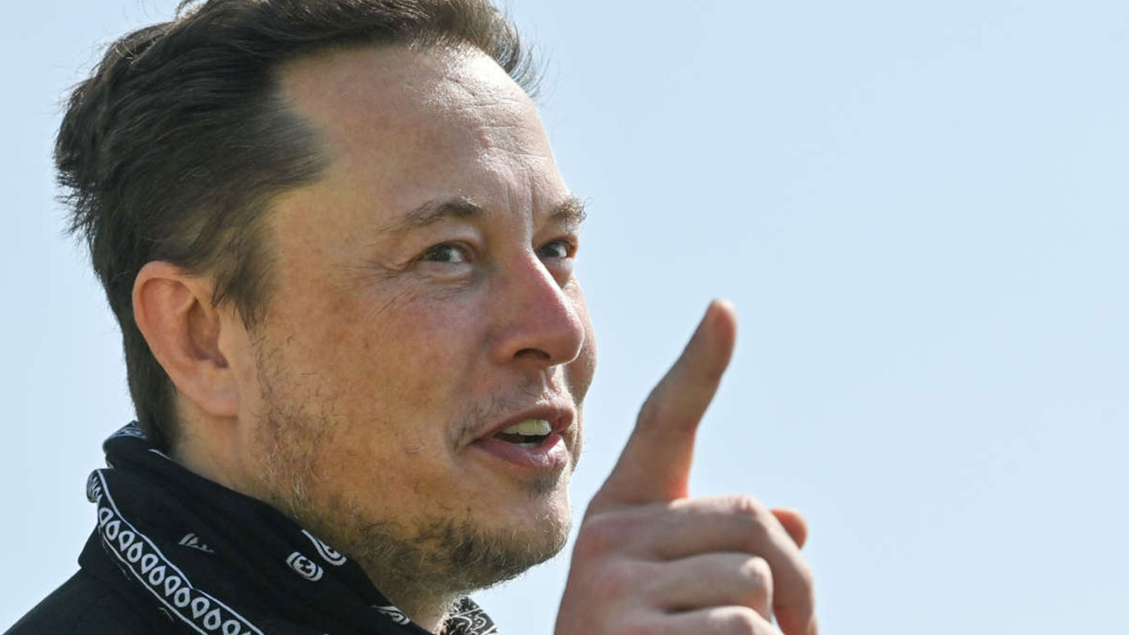 Tesla CEO Elon Musk talks during a tour of the plant of the future foundry of the Tesla Gigafactory on August 13, 2021, in Grünheide near Berlin, Germany.