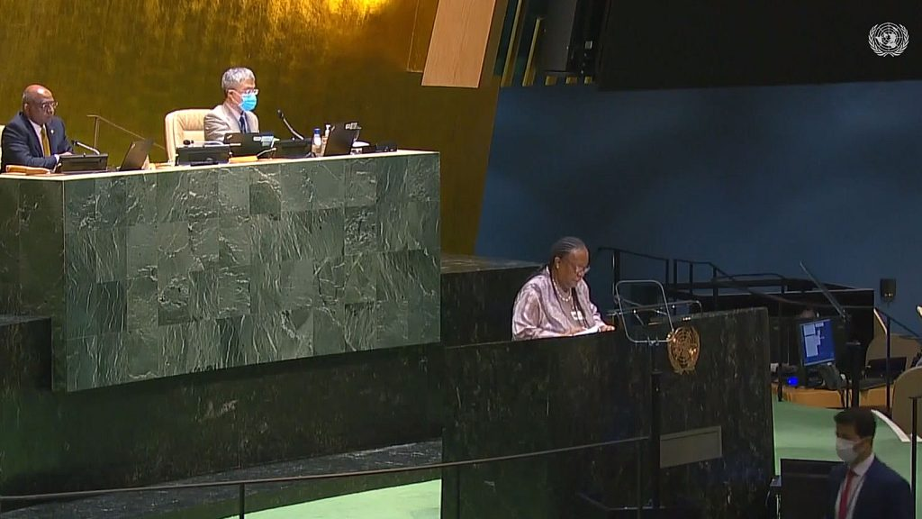 General Assembly: High-level Meeting to Commemorate the 20th Anniversary of the Adoption of the Durban Declaration and Programme of Action (Closing Plenary)