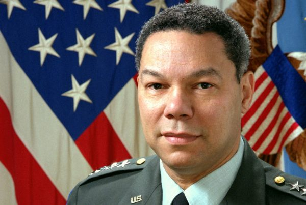 Former General, Sec. Of State Colin Powell